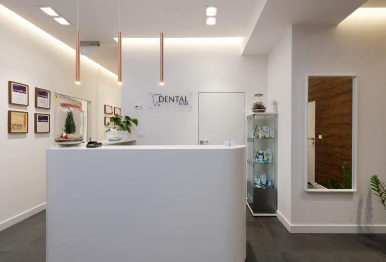 Fotografia wnętrz - przychodnia stomatologiczna