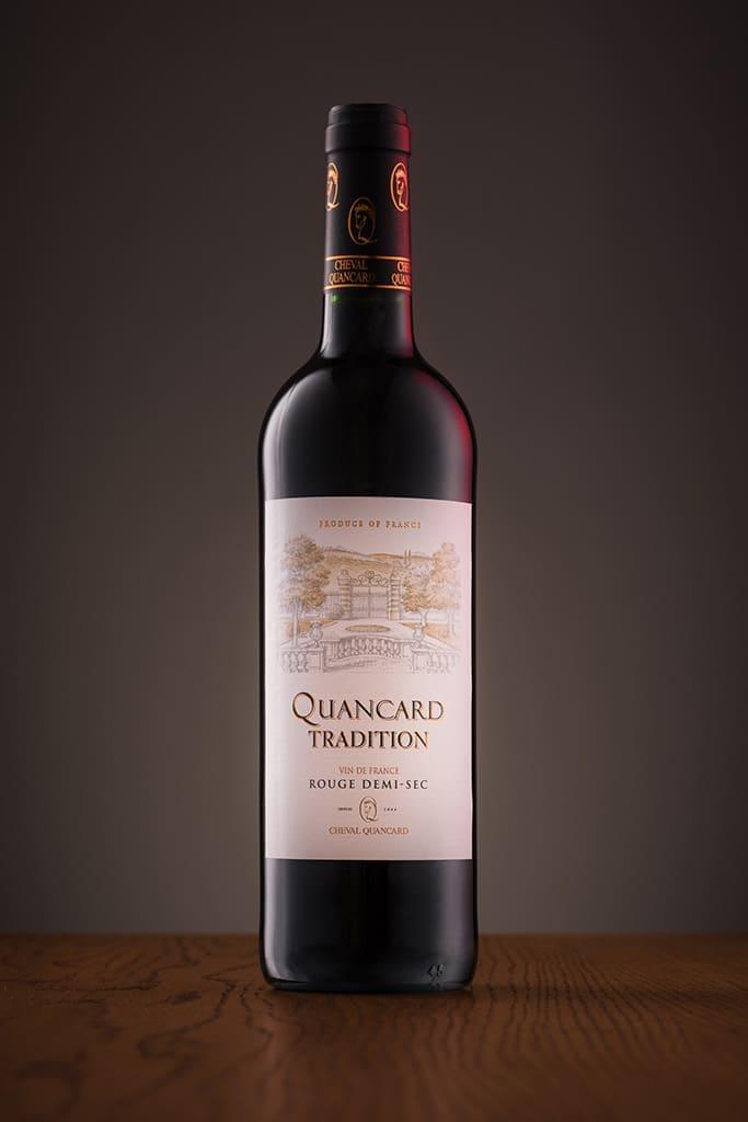 Fotografia produktowa - wino czerwone